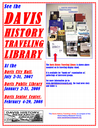 Davis History Traveling Library Begins, Three Public Exhibits Scheduled