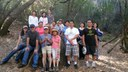 Hiking at Stebbins Cold Canyon Reserve - October 4, 2014