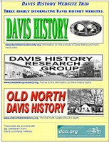 Davis Has Three Davis History Websites