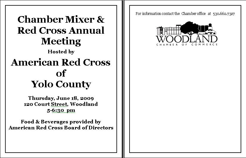 Annual Meeting June 18th Flyer