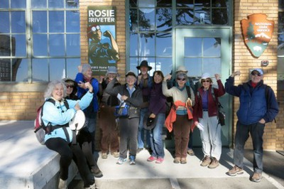 Group Photo at Rosie the Riveter Park (1/16/14)