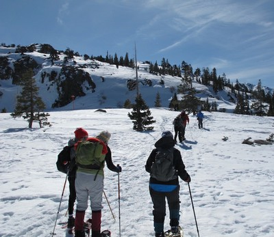 Donner Summit Snowshoe Hike, February 24, 2016