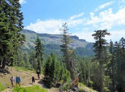 Castle Pass Ridge, Aug 2, 2017