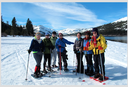 Donner Lake Snowshoe Hike, January 20, 2016